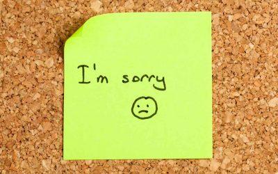 ceară scuze