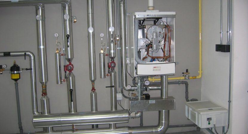 centrală termică pe gaz