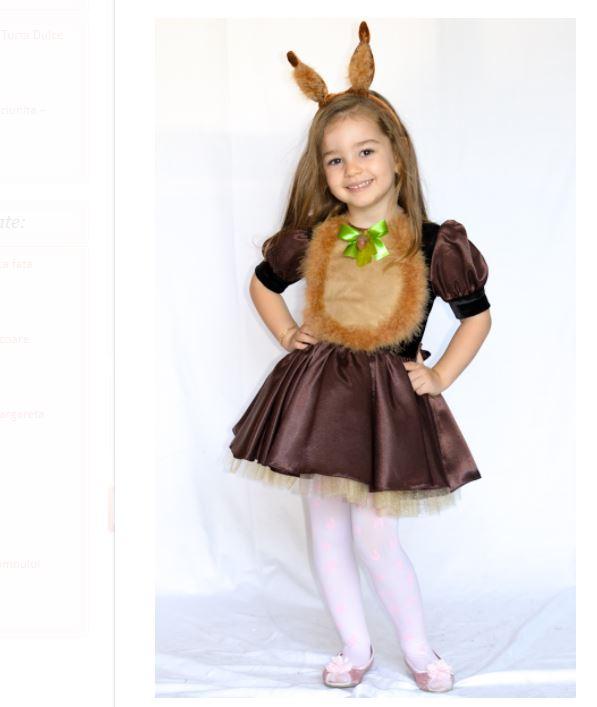 costum pentru serbarea copilului