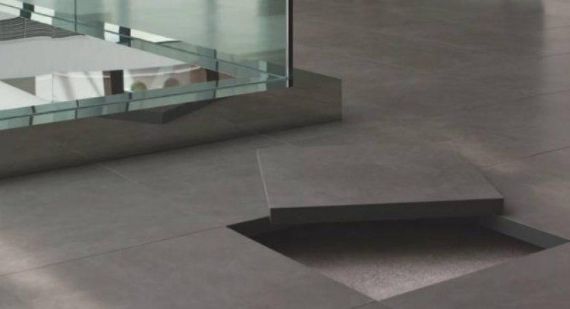podea suspendată